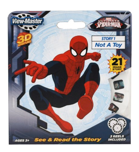 Basic Fun ViewMaster Spiderman 3 Reel Set (Viewmaster Reel)