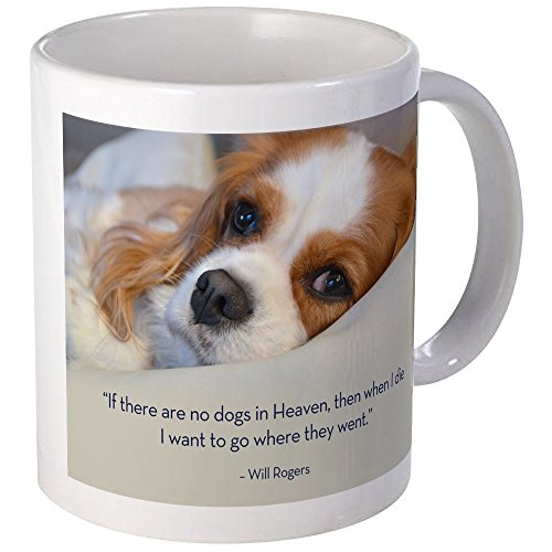 CafePress Cavalier King Charles Spaniel In Heaven Mug Unique Coffee Mug, Coffee Cup