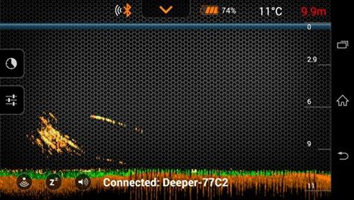 Deeper smart portable fish finder depth finder for for Deeper fish finder review