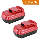 #9: Biswaye 2 Pack PC18B Replacement Battery 18V 3.0Ah for Porter Cable 18-Volt NiCd Cordless Power Tools Battery PCC489N PCMVC PCXMVC