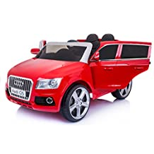 Luxury Kids, Boys, Girls, 12v Audi Q5 Series Electric Ride On Toy Car Jeep with Music, Lights, Remote Control