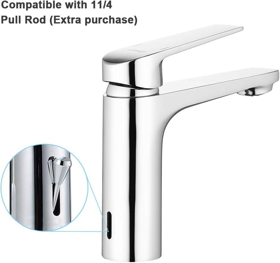 ubeegol Robinet mitigeur monocommande en laiton Robinet Lavabo pour salle de bain mitigeur de lavabo Valve en C/éramique Chrom/é