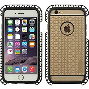 Dream Wireless Carrying Case for Apple iPhone 6S / 6 - Retail Packaging - Gold