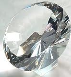 120mm 5'' Original Crystal Diamond Jewel Paperweight