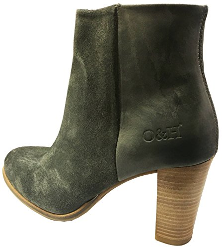 Oak & Hyde - Park Life - Suede/Cesar - Grey - Suede/Leather- Ankle Boots aTG3RVHz