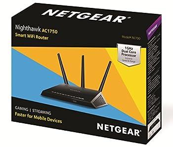 Netgear R6700 Nighthawk Ac1750 Dual Band Smart Wifi Router, Gigabit Ethernet (R6700) 4