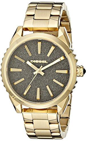 Diesel Women's DZ5474 Nuki Gold-Tone Stainless Steel Watch