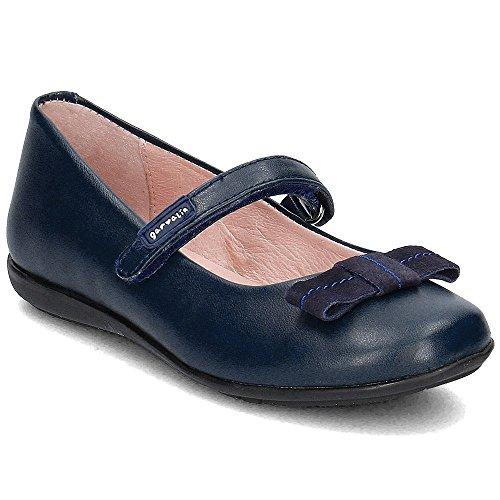 Garvalín 161600 - Bailarinas infantiles niña B-azul marino belcro
