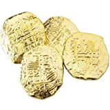 US Toy -Ancient Pirate Coins, 1 1/2 inches (1-Pack of 72)