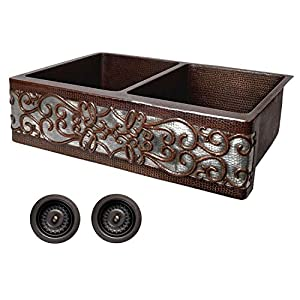 51LBV-5TAAL._SS300_ 75+ Best Copper Farmhouse Sinks For 2020