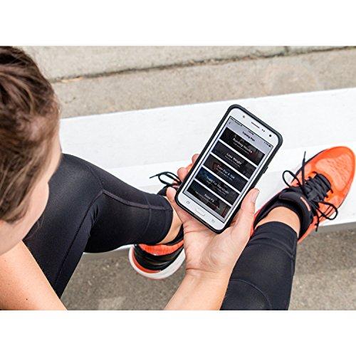 Runtopia Raggiungere 2,0 Delle Donne Scarpe Da Corsa Intelligenti Dotate Di Chip Di Dati Di Rilevamento Fiammata Rossa