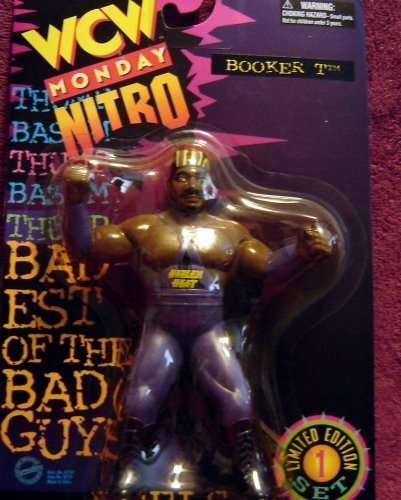 WCW Nitro Booker T. and Stevie Ray Monday Nitro Wrestling Action Figures WWF - Ray Kristal