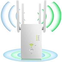 YiYunTE Repetidor WiFi Amplificador Señal WiFi 1200Mbps Extensor Red WiFi 2.4GHz 5GHz Extender WiFi Inalámbrico 4…