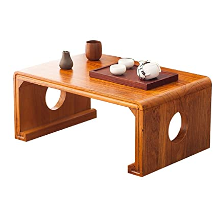Amazon.com: Wooden Coffee Table Mini Table Low Table Simple ...