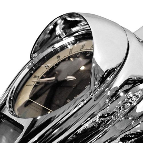 National Cycle Chrome Speedometer Cowl N7830 4333393595