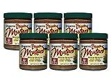 Organic Brown Mustard - 9 Oz. Glass Jar (Pack of 6)
