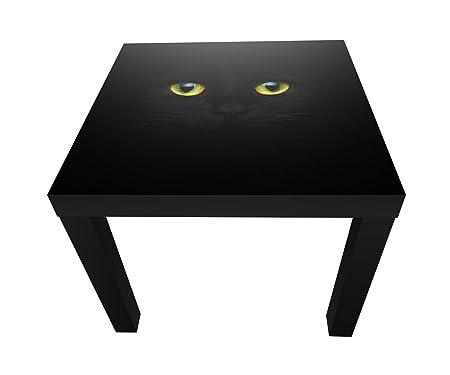 wandmotiv24 Tabla Misteriosos Ojos de Gato de Mesa de diseño M1015 ...