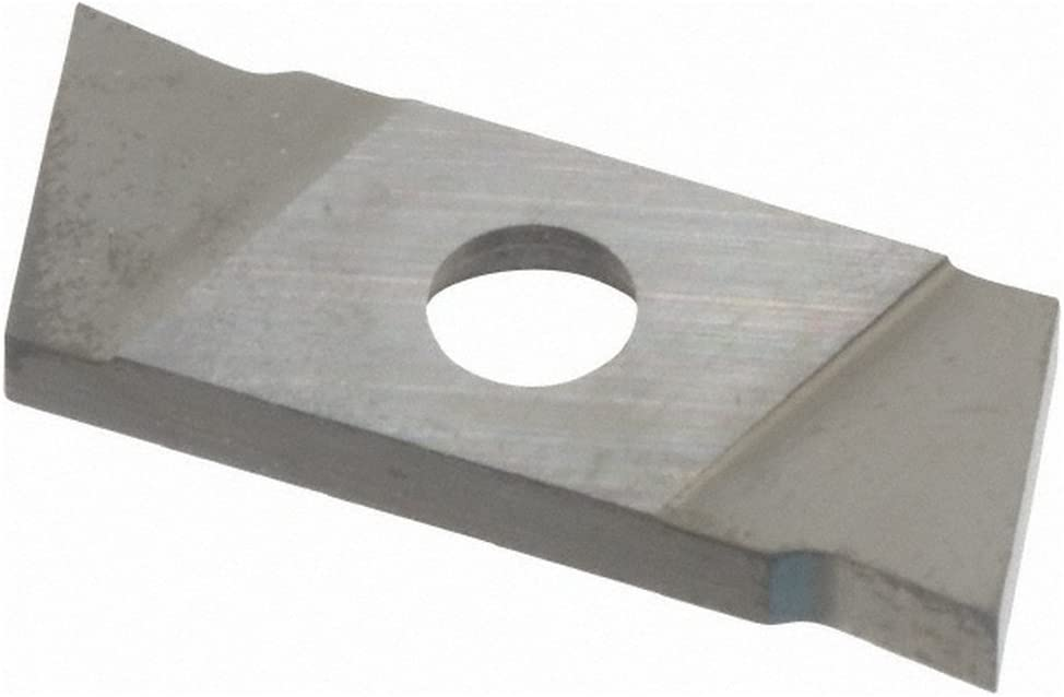 Carbide Cutoff Insert GIE2 0.0787 Cutting Width 0 Neutral Lead Angle TiN Coated
