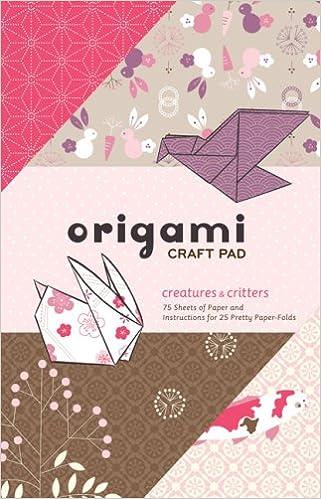 Origami Craft Pad Randy Stratton 9780811863872 Amazon Books