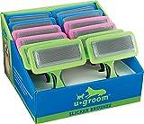 UGroom Slicker Brush Displays, 12 Pieces
