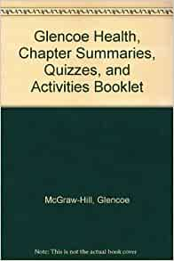 Glencoe health book chapter 19