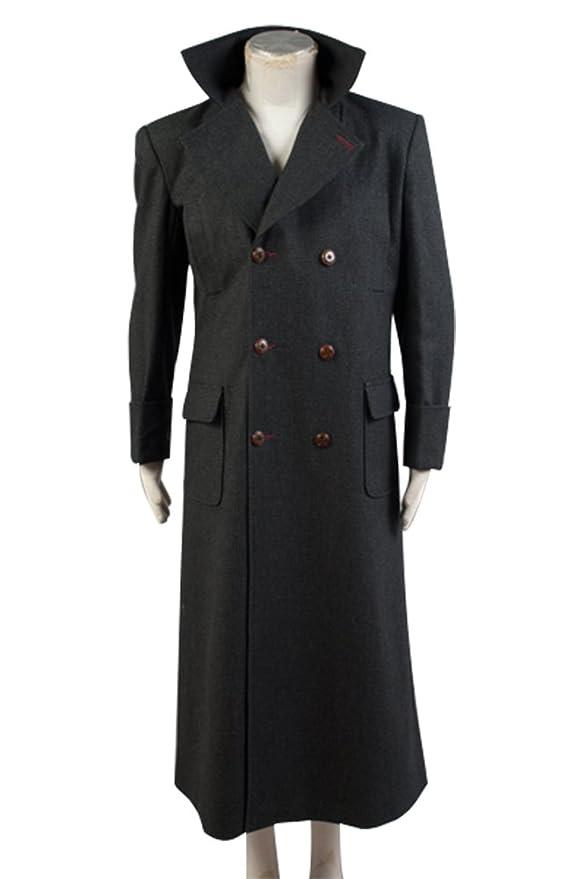 exquisites Design beliebte Geschäfte verkauf uk Sherlock Holmes Kap Mantel Kostüm maßgeschneiderte Wolle