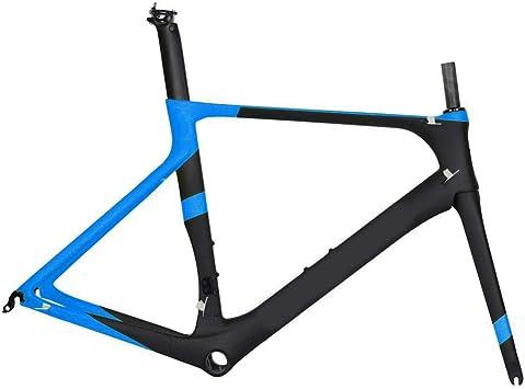 Cuadro de bicicleta de carretera de carbono completo Di2 y cuadro ...