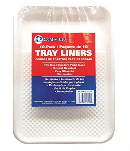 Paint Tray Liner, 2 qt, Plastic, PK10