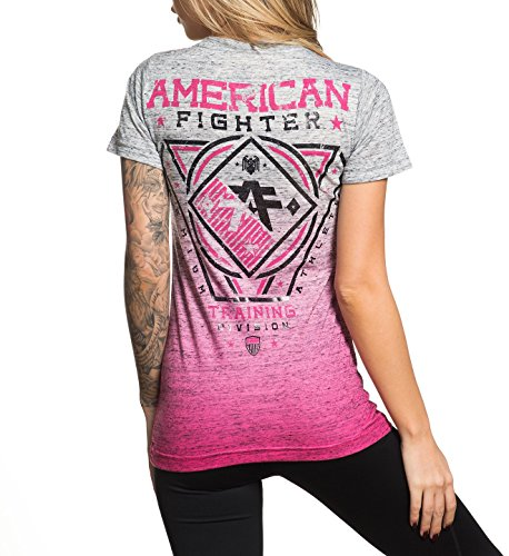 Femme Pour shirt Fighter American T Ventura Graphique vYx40