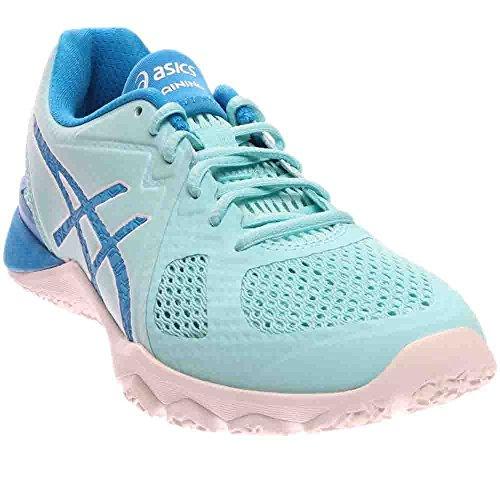 ASICS Women's Conviction X Cross-Trainer Shoe, Aqua Splash/Diva Blue/White, 8.5 M US by ASICS