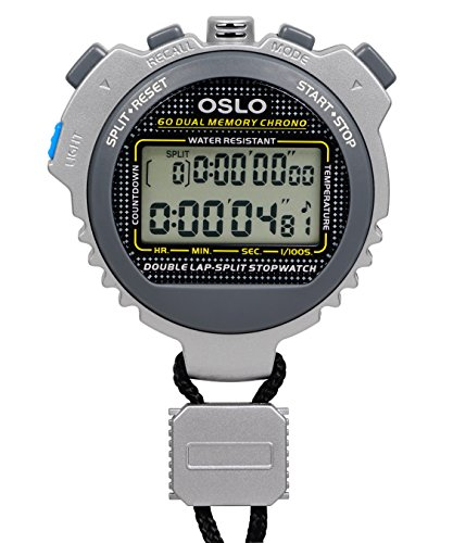 Robic 67764 Silver Memory Stopwatch product image
