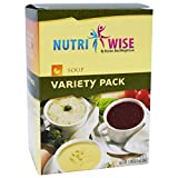 NutriWise – Variety Pack High Protein Diet Soup (7/box)