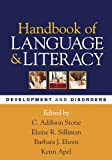 Handbook of Language and Literacy 1st Edition