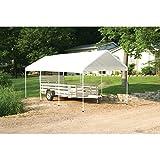 ShelterLogic MaxAP Compact Canopy, White, 10 x 20 ft.
