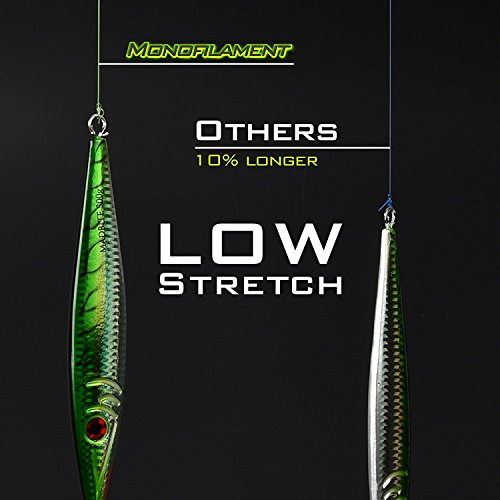 Superior Nylon Material Fishing Line Strong and Abrasion Resistant Mono Line 2015 ICAST Award Winning Manufacturer Paralleled Roll Track KastKing Worlds Premium Monofilament Fishing Line