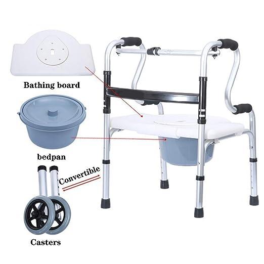 WYJW Andador Plegable Ligero de Aluminio para Caminar/Andador con ...