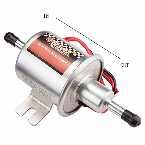 4-7PSI 12V Universal Electric Fuel Pump Low Pressure Gas Diesel Petrol HEP-02A