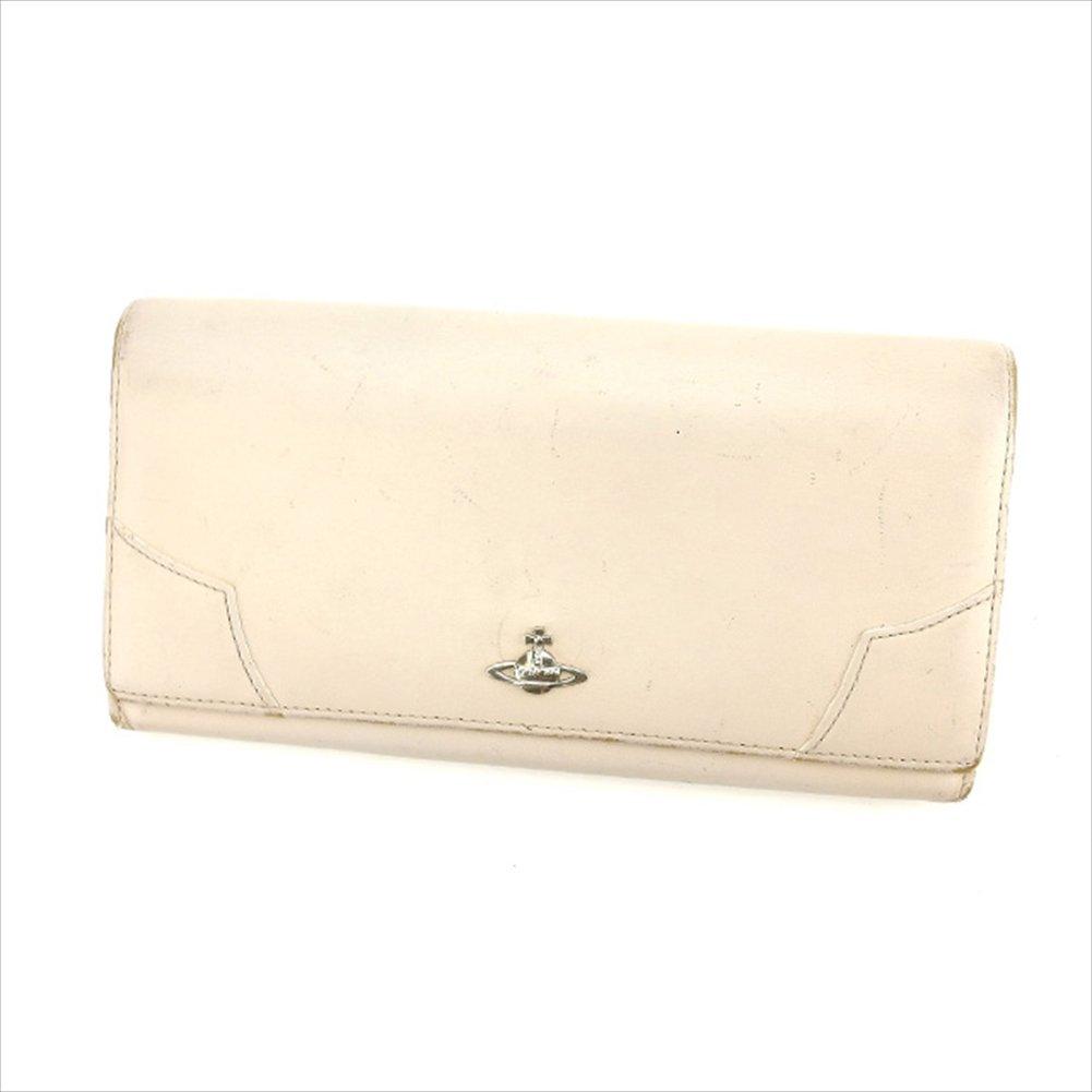 ヴィヴィアンウエストウッド Vivienne Westwood 長財布 ファスナー 二つ折り ユニセックス オーブ 中古 G741   B019RKQ7VO