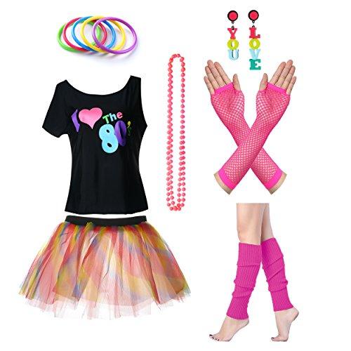 80s disco themed fancy dress - 6