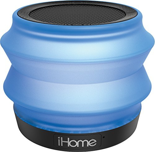 iHome IBT620LC Portable Bluetooth Speaker Blue