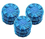 Toilet Bowl Cleaner Tablet Automatic In-Tank Blue Toliet Bowl Bathroom Antibacterial Cleaner Tablets (6 Pieces)