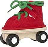 Hape Felt Lacing Skate in Red