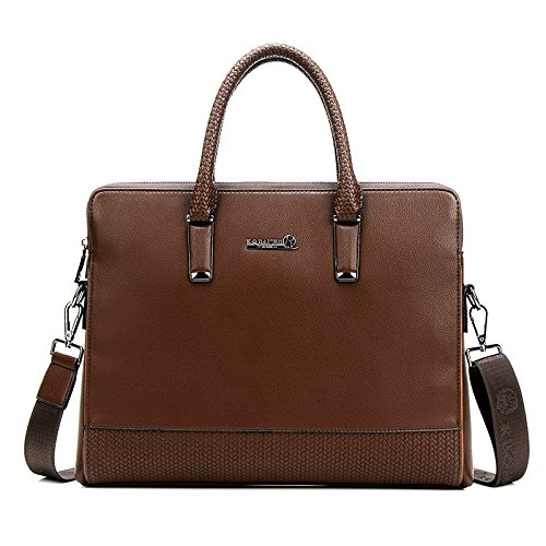 Bag Section Handbag Brown Business Shoulder Men's Cross 17nXF