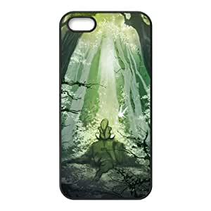 Hipster The Legend of Zelda Super Fit iPhone 4/4s Case Pattern Design Solid Rubber Customized Cover Case for iPhone 4 4s 4s-linda953