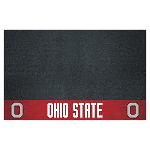 FANMATS NCAA Ohio State University Buckeyes Vinyl Grill Mat