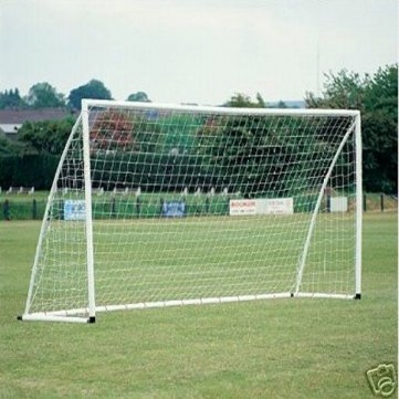 Pakhuis 8x6ft Soccer Goal Post Nets 2.4x1.8m for Poly Samba Frames Sports