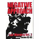 Fair Warning Vol. 2 More Shows 82-83