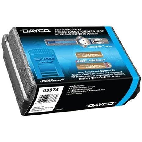Dayco 93874 correa de distribución Kit de diagnóstico por Dayco: Amazon.es: Coche y moto