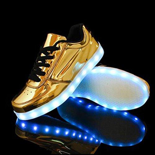 Baile a LUZ Brillantes Para LED Peque o a Fiesta Zapatillas Zapatos Ni Carga Multicolor junglest Ni c17 Danza con Deportivos Para Toalla Presente T6gPwnxEqA