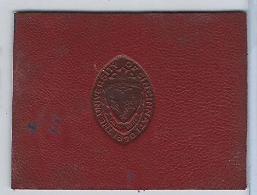 L20 American Tobacco Leather, College Seals, 1912, Cincinnati (Red)